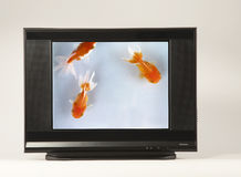 High-definition Television Stock Photo