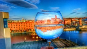 High definition wine glass photography royalty free stock photo