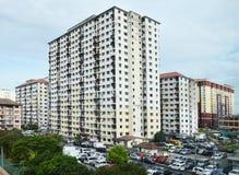 High-density снабжение жилищем в Малайзии Стоковые Изображения RF