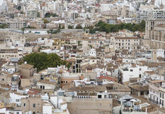 High density area view in palma de mallorca Royalty Free Stock Photography