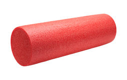High Density Foam Exercise Roller Royalty Free Stock Images