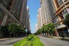 High density residental apartments. In Guangzhou China stock images
