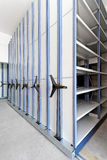 High Density Shelves Stock Image