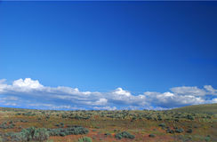 High Desert. Country in central oregon north of Madras Oregon and South of Mt Hood stock photography