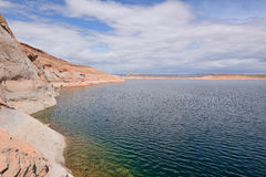 High Desert Lake Royalty Free Stock Photo