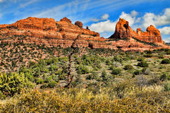 High Desert Mountain Red Rock Country Stock Photography