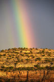 High Desert Rainbow. Royalty Free Stock Images