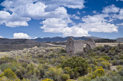 High Desert Ruins Stock Photo