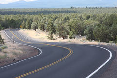 High Desert S Curve Stock Photo