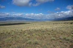 High Desert Valley Colorado stock image