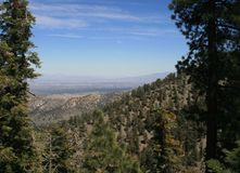 High desert view Royalty Free Stock Images