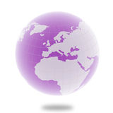 High detail 3d globe Stock Photography