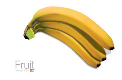 High detailed Bananas Stock Image