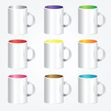 High detailed cups Royalty Free Stock Photo