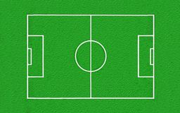 High detailed football field texture Royalty Free Stock Photo