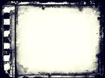 Grunge film frame with space for text or image. High detailed grunge film frame with space for your text or image Stock Photography