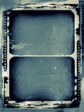 Grunge film frame with space for text or image Stock Image