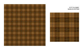 High detailed Scottish tartan Royalty Free Stock Images
