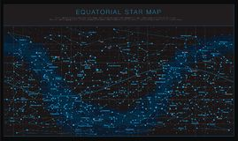 Free High Detailed Sky Maps Vector Set Stock Photo - 100875640