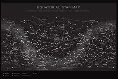 High detailed sky maps vector set stock illustration