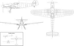 Messerschmitt Bf 109 Stock Photos