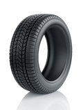 High detaled winter tyre  Stock Photos