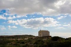 Dingli cliffs on Malta island. High Dingli cliffs on Malta island. Beautiful landscape in south Europe Royalty Free Stock Image