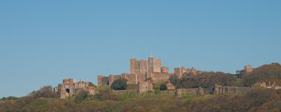 High Dover castle Royalty Free Stock Photography
