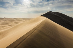 High dune in the Sahara desert Stock Photo