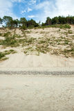 The high dunes Royalty Free Stock Photo