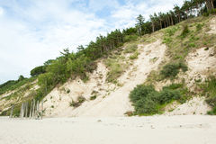 The high dunes Royalty Free Stock Image