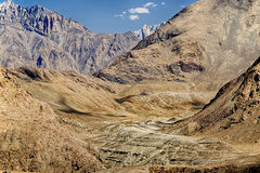 High Dynamic Range - HDR image, ladakh ,Jammu and Kashmir, India Royalty Free Stock Photos