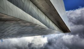 High Dynamic Range obrazek architektura w Amsterdam Zdjęcia Royalty Free