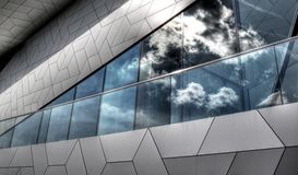 High Dynamic Range picture of architecture in Amsterdam. On a sunny day Stock Photo