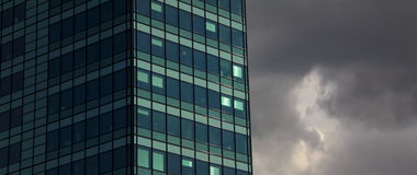 High Dynamic Range picture of architecture in Amsterdam. On a sunny day Stock Photography