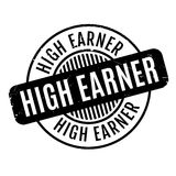 High Earner rubber stamp Royalty Free Stock Photography