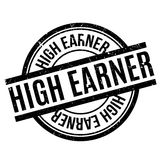 High Earner rubber stamp Royalty Free Stock Image