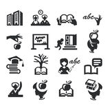 High education. Authors illustration in vector Royalty Free Stock Photography
