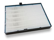 High efficiency air filter for HVAC system.  on white. Stock Photography