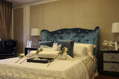 High-end bedroom example room Royalty Free Stock Image