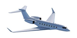 High-end Business Jet Stock Photo