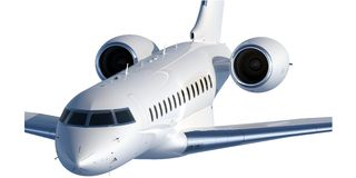High-end Business Jet Type 2 Stock Images