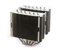 High-end CPU heatsink Stock Photos