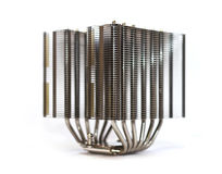 High-end cpu heatsink Stock Afbeelding