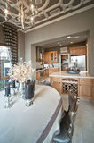 High-end kitchen design Royalty Free Stock Image