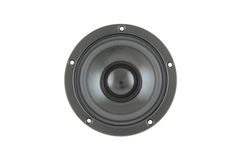 High-End low mid-range driver loudspeaker Royalty Free Stock Photo