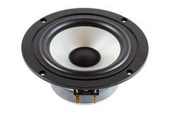 High-End low mid-range driver loudspeaker Stock Photo