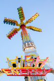 High Energy attraction. A spinning attraction installed during 2013 Killiani Volksfest in Wurzburg Stock Photos