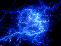 High energy electromagnetic field Stock Images