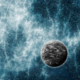 High Energy Universe Region. Background Suitable for Custom Content Royalty Free Stock Images